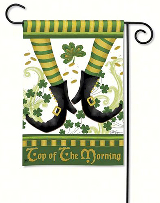Irish Jig Garden Flag